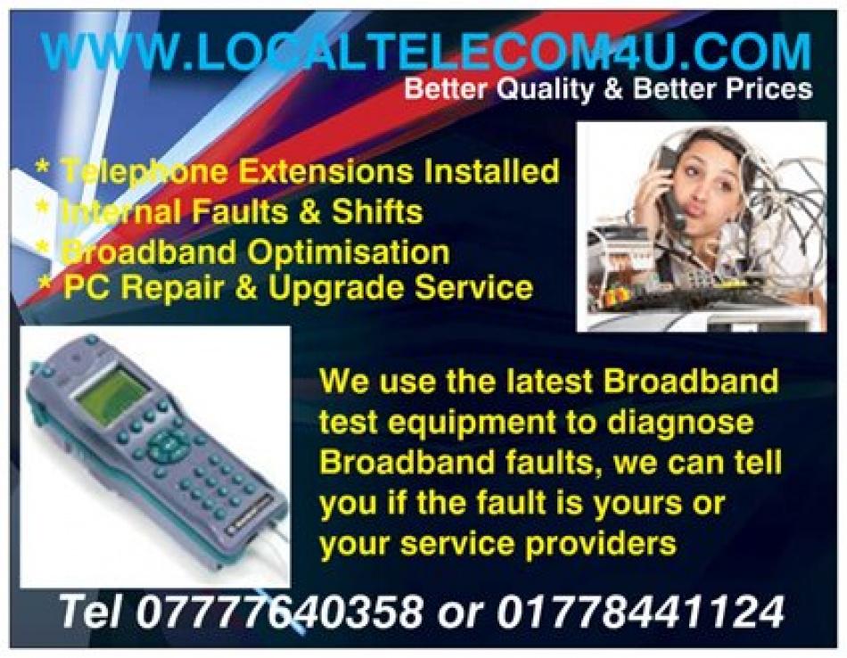 Local Telecom   Telephone & Broadband Engineer in Bourne ...