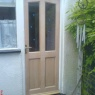BS Carpentry & Maintenance - New rear hardwood door