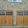 Ridgeway Garage Doors & Repairs - Garador Up & Over Garage Door Ashton design in Timber
