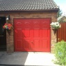 Ridgeway Garage Doors & Repairs - Hormann Up & Over Garage Door Marquess Design in Red