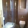 Gablee Projects Ltd - Ensuite with wood effect tiles