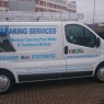 MW Cleaning Services - Our Livered Van