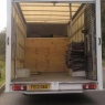 Affinity Couriers - Back of Luton Van
