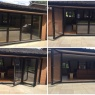 Custom Choice Windows Ltd - 4 section bifold doors   black