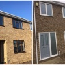 Custom Choice Windows Ltd - before and after   full house installation