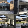 Custom Choice Windows Ltd - 5 section BiFolding doors collage