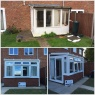 Custom Choice Windows Ltd - conservatory upgrade fitted with ultraframe's A rated roof