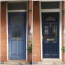 Custom Choice Windows Ltd - Before and after Composite Door upgrade