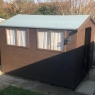 Pete Bird Property maintenance - Shed stain and felt replacement