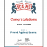 Pristine Gutter Cleaning - Friends Against Scams Certificate