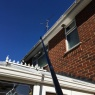 Pristine Gutters - Cleaning over a conservatory