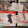 TV Repairs (Solutions) Peterborough - Leaflets & cards have arrived