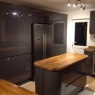 Crescent Carpentry & Building Ltd - oak/high gloss kitchen june 2015