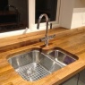 Crescent Carpentry & Building Ltd - undr oak w/top sink
