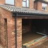 Crescent Carpentry & Building Ltd - Extension awaiting bi folds