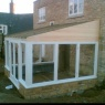Crescent Carpentry & Building Ltd - Timber sunroom in progress