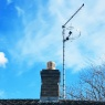 Homeview Aerials - Chimney TV aerial system with FM/DAB aerial.