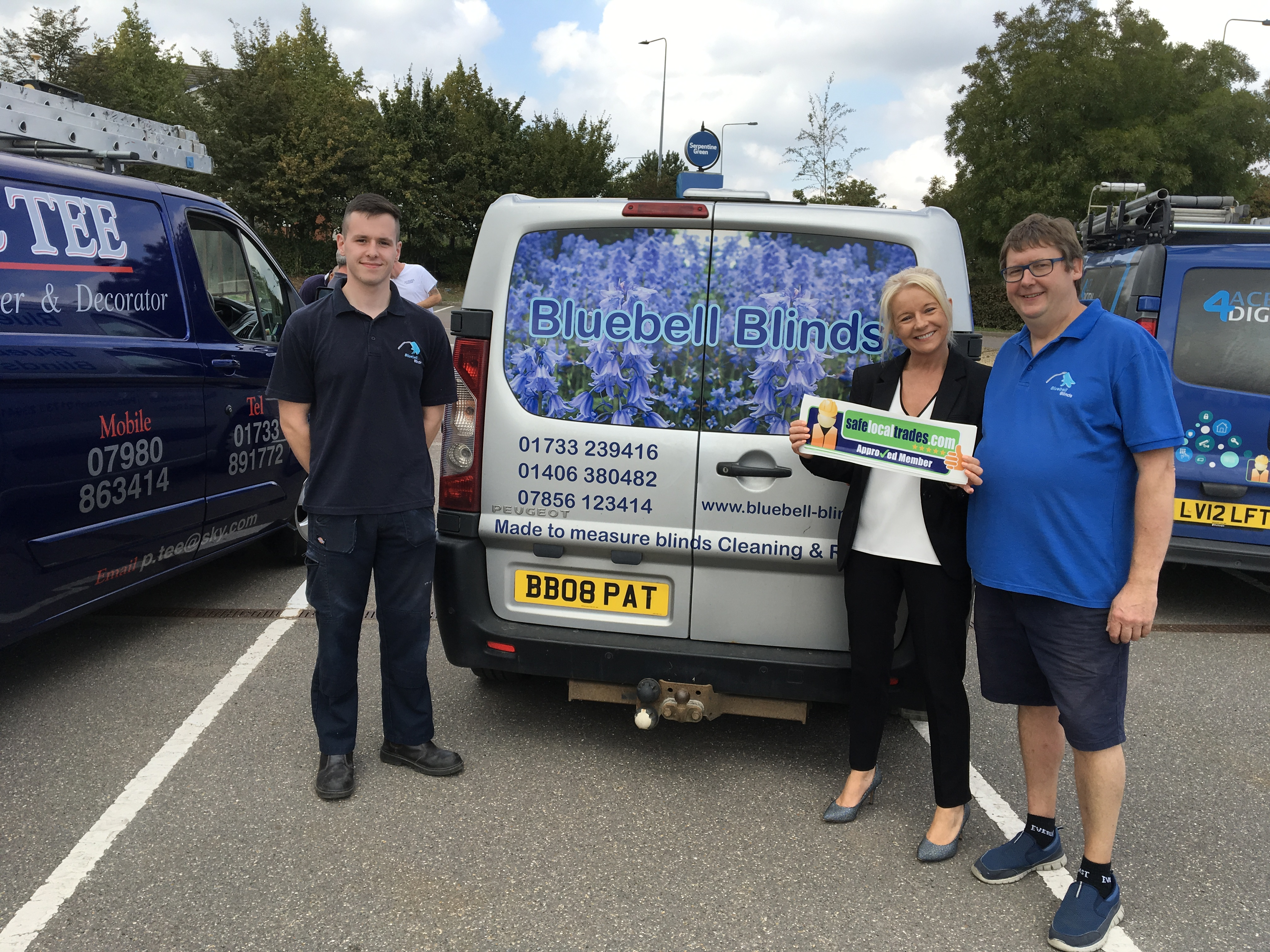 Pat Barker of Bluebell Blinds in Peterborough & Spalding