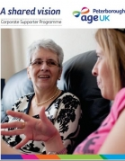 Age UK Corporate Supporter Leaflet