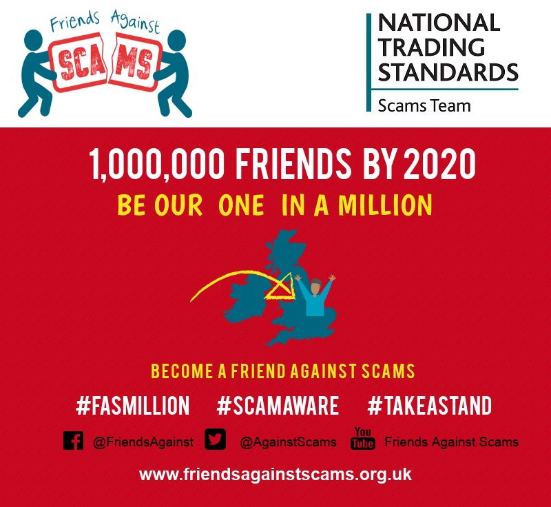 Friends Against Scams one million