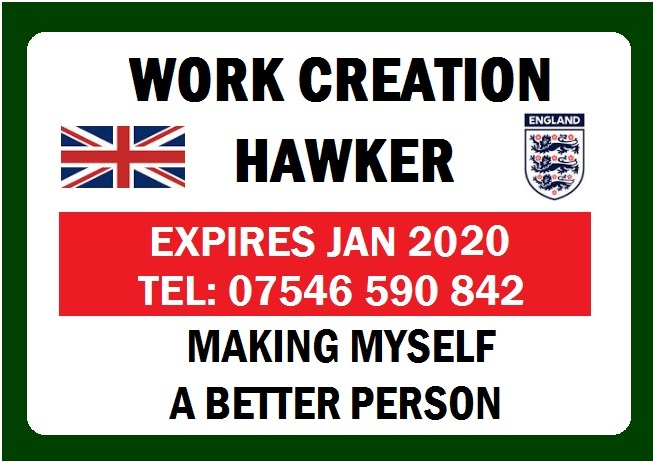 Hawkers Licence ID